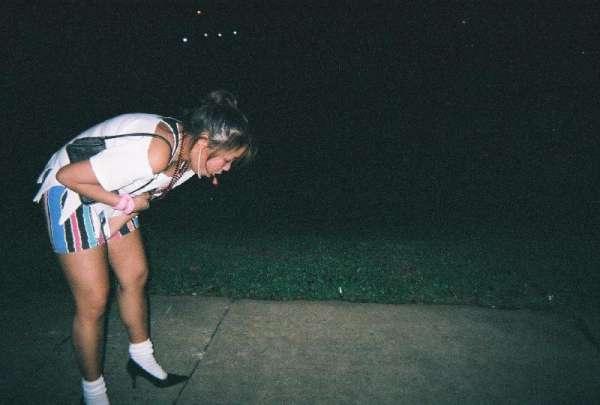 Chinese 80's Girl puking! vomit