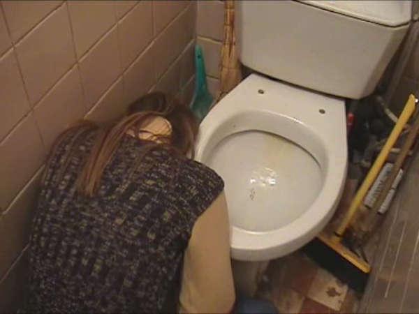 Girl Puking vomit