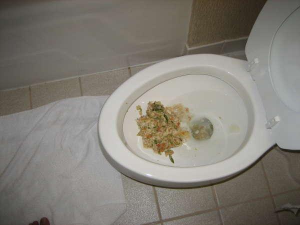 pukin vomit