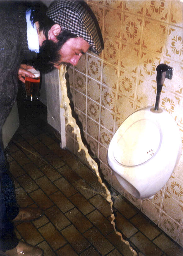 Kiwi's Chunder! vomit