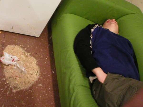 Floor Vomit vomit