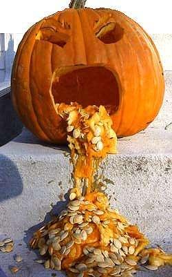 Pumpkin Vomit vomit