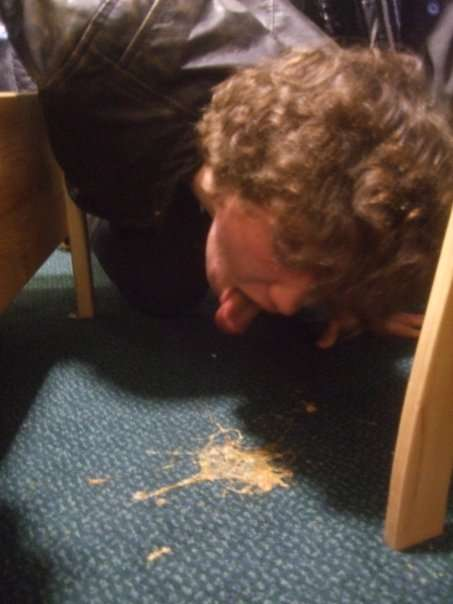 Carpet Stain vomit