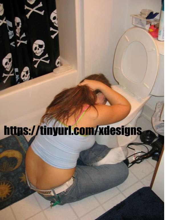 Jared's girl Throwing up vomit