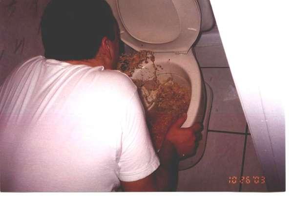 Beer Is Good vomit