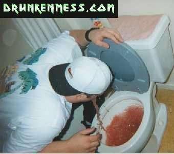 toilet vomit vomit
