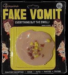 Fake Vomit vomit