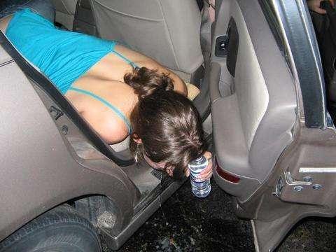 Party Girl! vomit