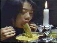 Candlelight Dinner vomit