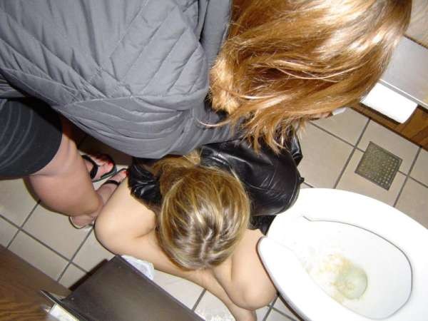 Puking girl got Help! vomit