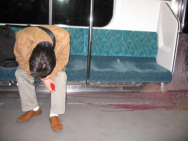 Subway Spew vomit